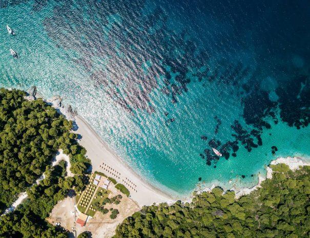 kastani beach skopelos activities