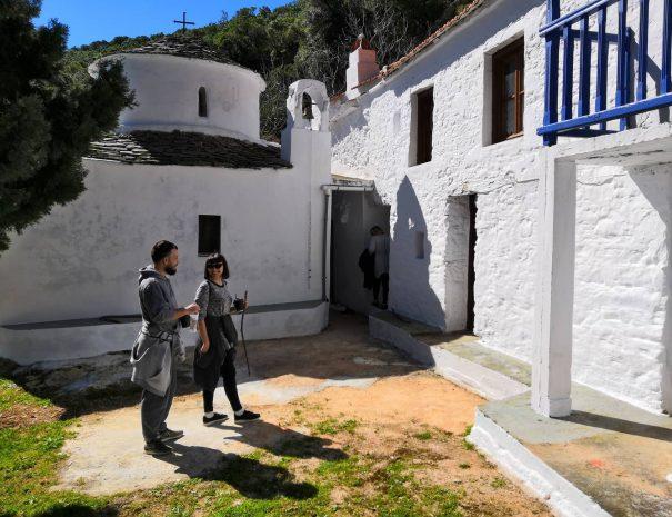 hiking with skopelos activities
