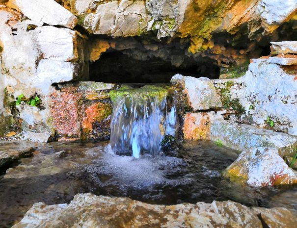 water from the mountain skopelos activities